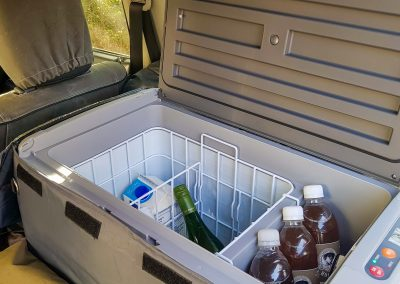 50L camping fridge with Tread Lite 4x4 hire