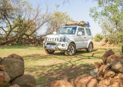 Renting a Suzuki Jimny in South Africa with Tread Lite 4x4 hire
