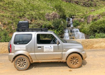 Sani Pass in a Suzuki Jimny 4x4 car hire South Africa