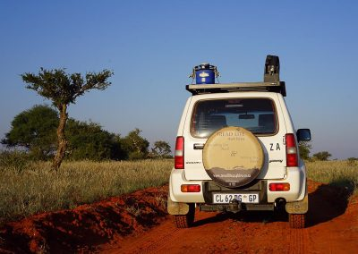 Mokala National Park in Tread LIte 4x4 rental