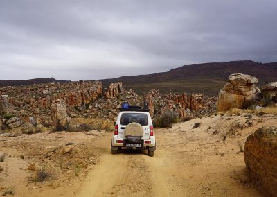 Tread Lite 4x4 hire Suzuki Jimny in Cedarberg South Africa