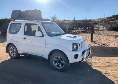Suzuki Jimny rental in Namaqua National Park