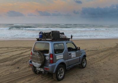 Tread Lite 4x4 hire in Mozambique