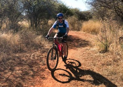 Mountain biking in South Africa