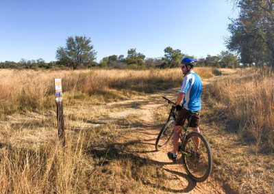 Mountain bike trails at Sondela