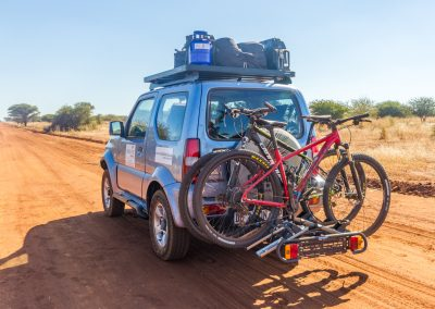 4x4 hire and mountain biking in South Africa