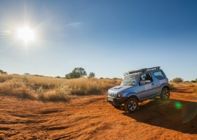 The Suzuki Jimny 4 x 4vehicle is geared up to make your overland adventure a memorable one.