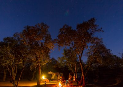 Camping under the stars with Tread Lite 4x4 hire