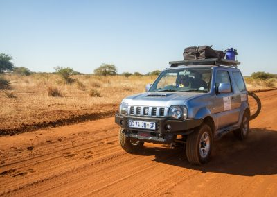 Suzuki Jimny and Mountain Bike hire