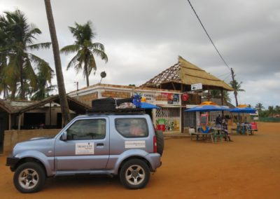 Tread Lite 4x4 hire to Mozambique