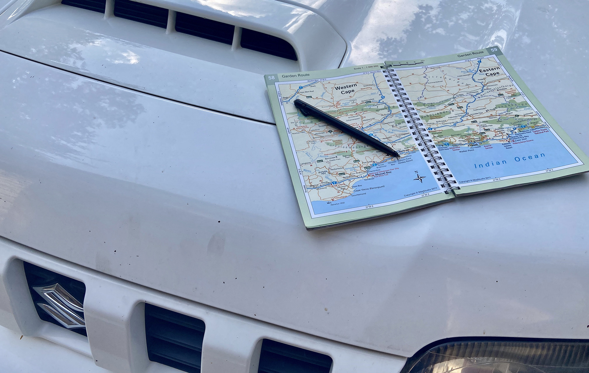 Road map for South Africa self drive