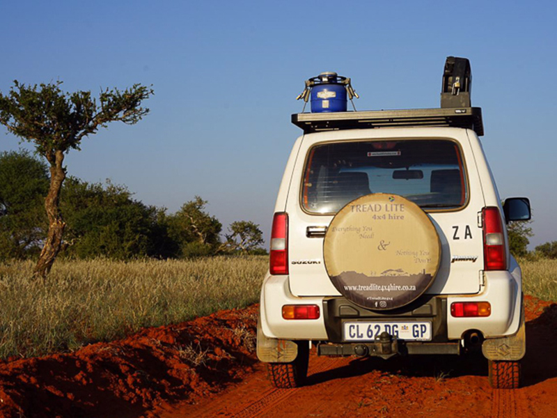 Explore Southern Africa in a 4x4 Suzuki Jimny Rental
