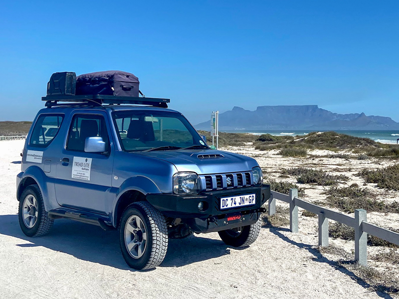 Jimny 4x4 rental in Cape Town, South Africa