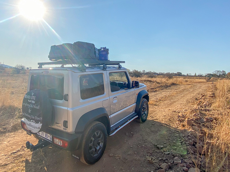 Equipped 4x4 hire in the new Jimny