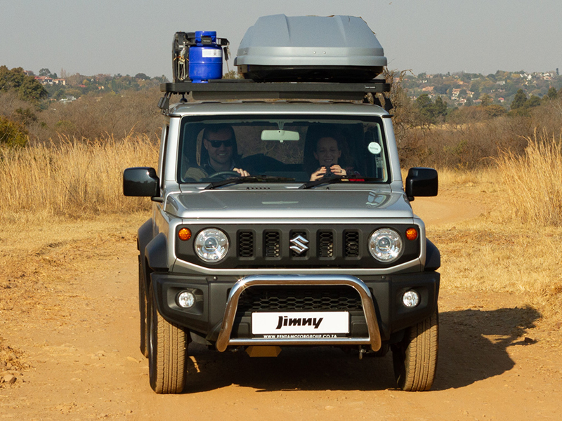 Self-Drive Vacation in Southern Africa with the new Jimny