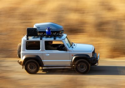 Full equipped 4x4 hire in the new Jimny