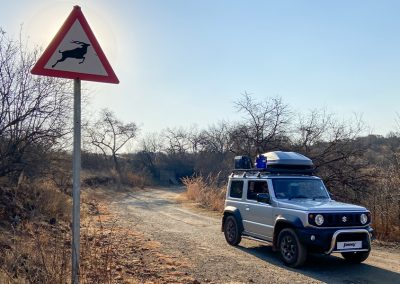 Jimny Rentals in South Africa with Tread Lite