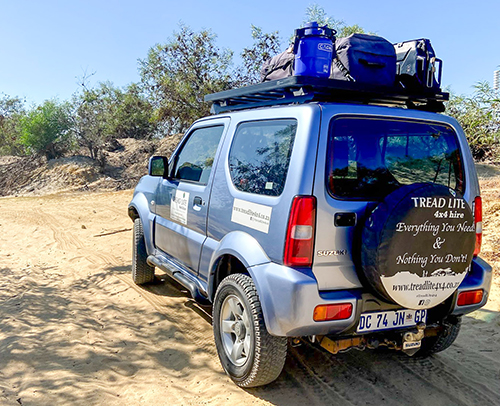 Rent the original 1.3 Suzuki Jimny for your self driive vacation across Southern Africa