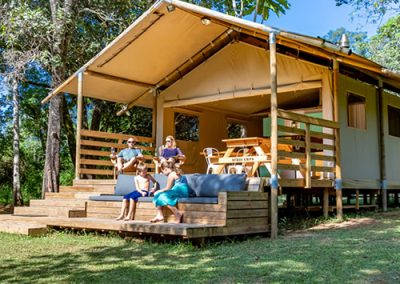 Africamps at Mackers in Hazyview on self-catering vacation to South Africa