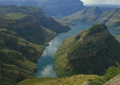 The Blyde River Canyon on the Panorama Route on self-drive vacation