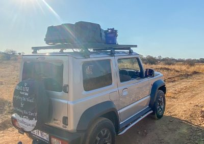 New Jimny rental with Tread Lite 4x4 hire
