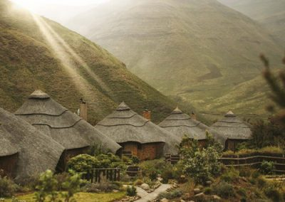 Maliba Lodge in the Lesotho Mountain Range on a self drive 4x4 vacation