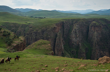 Beautiful Lesotho vistas on Lesotho self-drive vacation
