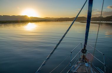 Boat cruise on the Knysna Lagoon on Garden Route self-drive