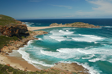 Robberg Beach near Plettenberg Bay on the Garden Route