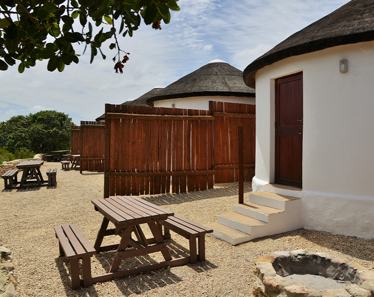 Campsite Rondawels at De Hoop Nature Reserve