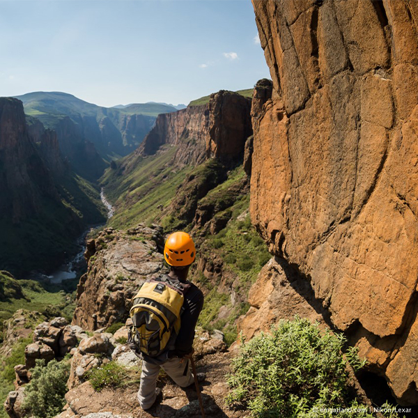 Walking in Semonkong - Photoo by Em Gatland