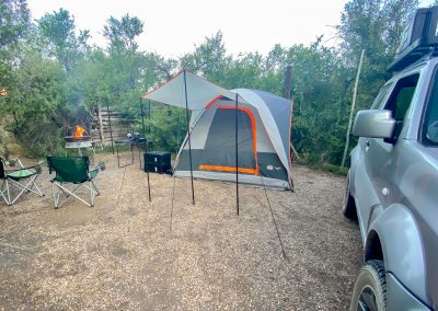 Camping with Tread Lite 4x4 hire