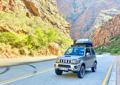 Meiringspoort with Tread Lite 4x4 hire