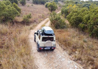 equipped and unequipped Suzuki Jimny rental in South Africa